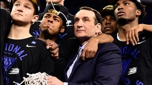 Champ. Countdown: Mike Krzyzewski 1-on-1