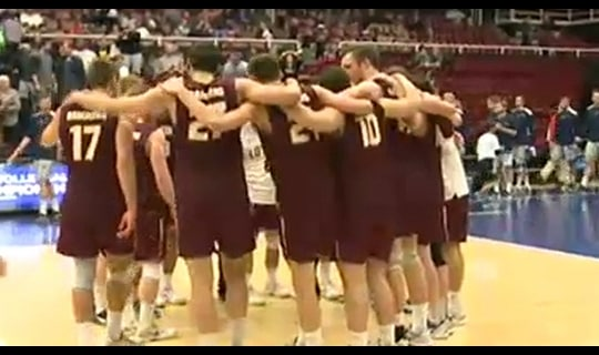 2015 NC Volleyball Semifinal Full Replay: Loyola Chicago vs. UC Irvine