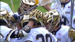 DI Men's Lacrosse: Fighting Irish advance