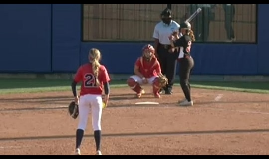 2015 DII Softball Game 3 Full Replay: Dixie State vs. California (PA)