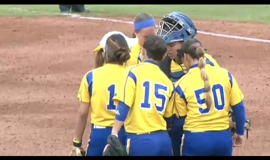 2015 DII Softball Game 7 Full Replay: St. Mary's (TX) vs. North Georgia