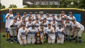 North Georgia wins the 2015 DII Softball Championship