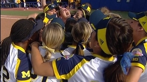 WCWS: Michigan knocks off LSU
