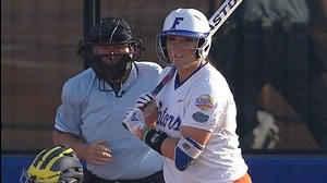 WCWS: Gators take finals game one