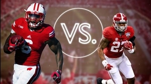 Versus: Alabama Football-Derrick Henry vs. Wisconsin Football-Corey Clement