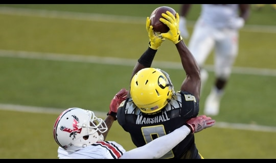 Oregon Football: Adams Jr. connects with Marshall for 24-yard TD