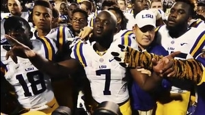 Hand Him The... LSU's Leonard Fournette