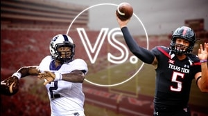 Versus: TCU Football-Trevone Boykin vs. Texas Tech Football Patrick Mahomes