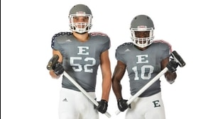 Behind The Seams: Eastern Michigan Patriotic Uniforms