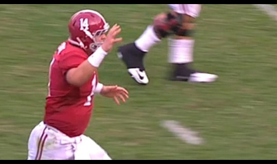 Alabama Football: INT leads to Coker TD