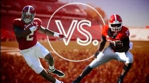 Versus: Alabama's Henry vs. Georgia's Chubb