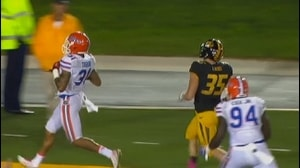 Florida Football: Tabor 40-yd pick-6