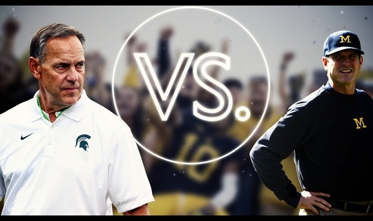 Versus: Michigan Wolverines vs. Michigan State Spartans