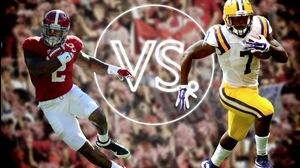 Versus: Alabama's Derrick Henry vs. LSU's Leonard Fournette