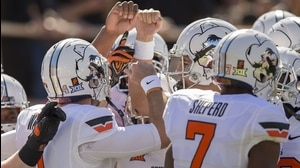 Behind The Seams: Oklahoma State Kneeling Cowboy