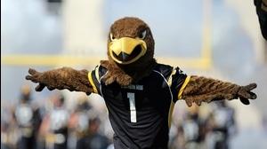 High Five: Football's Punny Mascots