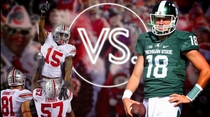 Versus: Ohio State's Ezekiel Elliott vs. Michigan State's Connor Cook