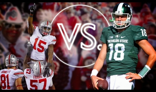 Versus: Ohio State's Ezekiel Elliott vs. Michigan State's Connor Cook