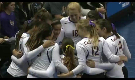 2015 DIII Women's Volleyball Semifinal Full Replay: Carthage vs. Cal Lutheran