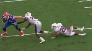 Florida Football: McGee OT winning TD