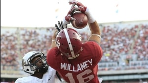Alabama Football: Mullaney acrobatic TD