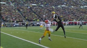 Oregon Football: Nelson TD after turnover