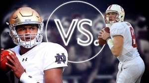 Versus: Notre Dame's DeShone Kizer vs. Stanford's Kevin Hogan
