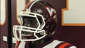 Behind The Seams: Virginia Tech 1987 Retro Helmet