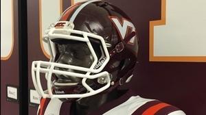 Behind The Seams: Virginia Tech 1987 Retro Helmet