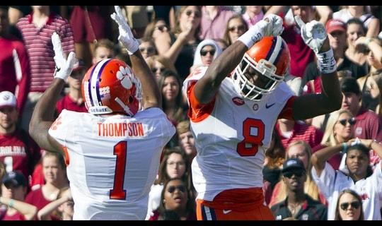 Clemson Football: Cain 55-yd touchdown