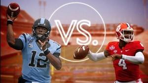 Versus: Clemson's Deshaun Watson vs UNC's Marquise Williams