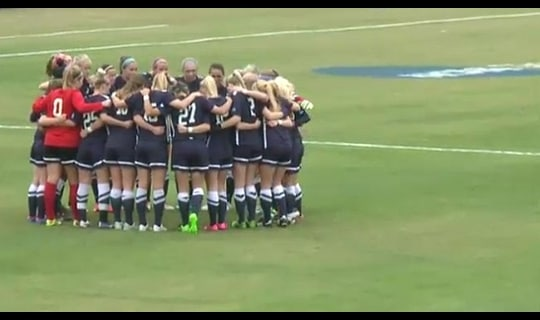 2015 DII Women's Soccer Semifinal Full Replay: Columbus St. vs. Bridgeport