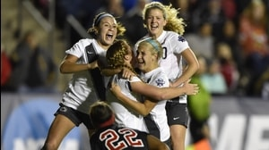 2015 DI Women's Soccer: Penn State defeats Rutgers in Semifinal