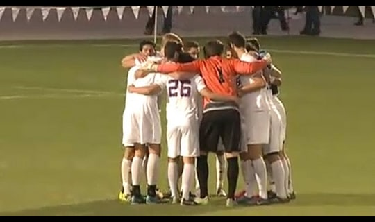 2015 DIII Men's Soccer Semifinal Full Replay: SUNY Oneonta vs. Amherst