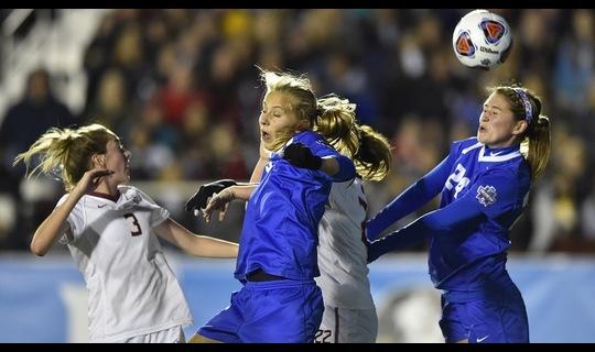 2015 DI Women's Soccer: Duke upsets FSU in Semifinals