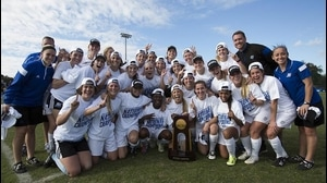 Grand Valley State wins the 2015 DII Women's Soccer Championship