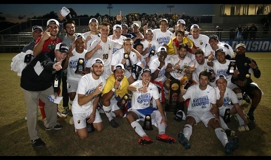 2015 DII Men's Soccer: Championship Recap