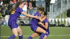 Williams wins the 2015 DIII Women's Soccer Championship