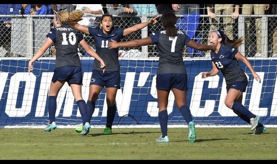 2015 DI Women's Soccer: Championship Highlights