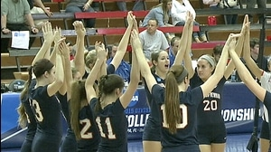 2015 DII Women's Volleyball: Quarterfinal Recap