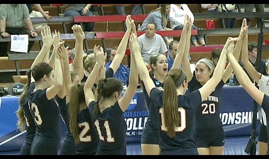 2015 DII Women's Volleyball Championship: Quarterfinal Recap