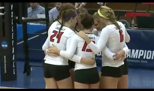 2015 DII Women's Volleyball Semifinal Full Replay: Western Washington vs. Wheeling Jesuit