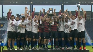 Stanford wins the 2015 DI Men's Soccer Championship