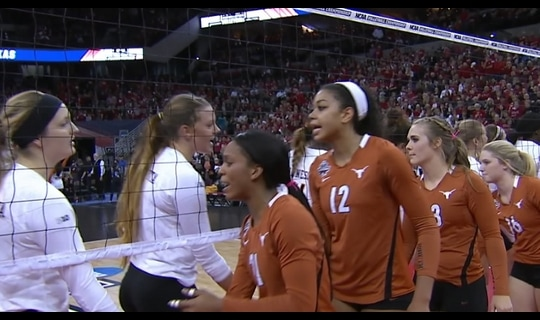 2015 DI Women's Volleyball: Texas tops Minnesota