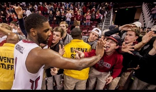 Men's Basketball: South Carolina Remains Unbeaten