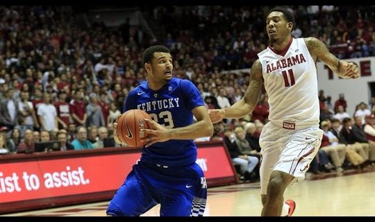 Mens Basketball: Kentucky tops Alabama