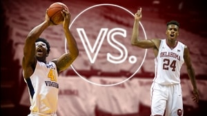 Versus: West Virginia's Williams vs Oklahoma's Hield