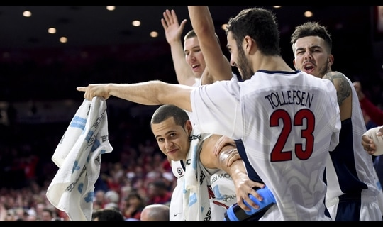 Men's Basketball: Arizona tops Washington St.