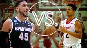 Versus: Maryland's Trimble vs Michigan State's Valentine