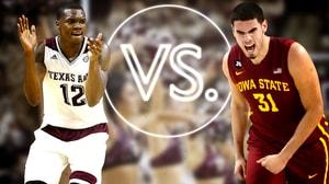 Versus: Texas A&M's Jones vs Iowa State's Niang